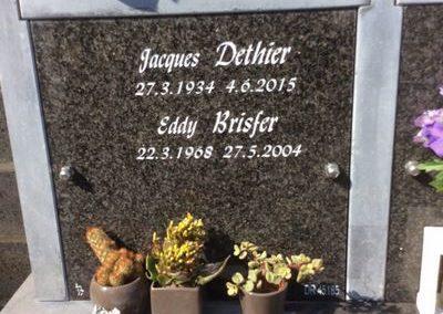 Accessoire funéraire à Liège