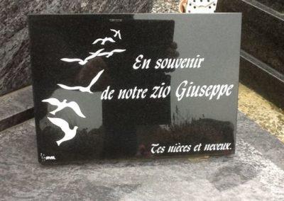 Accessoires funéraires à Liège