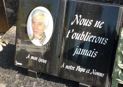 Plaque commémorative à Liège