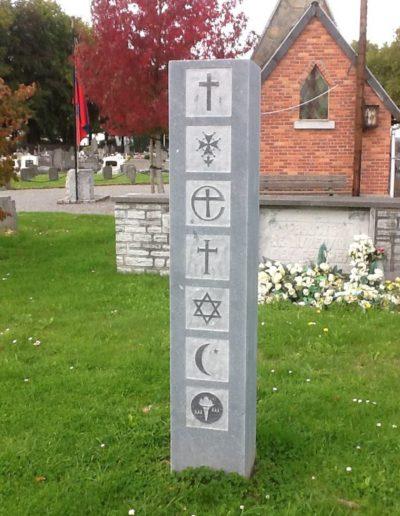 Stèle funéraires à Liège