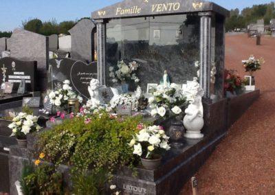 Aménagement cimetière chapelle Liège