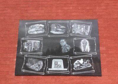 Gravure sur plaque funéraire