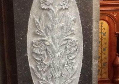 Gravure sur plaque Liège sculpture