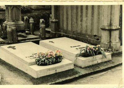 Monuments funéraires Liège vintage