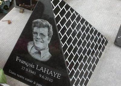 Plaque commémorative personnalisée à Liège