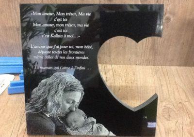 Plaque funéraire Liège